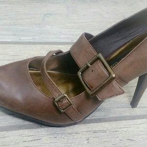 Steve Madden Luxe Double Buckle Heels